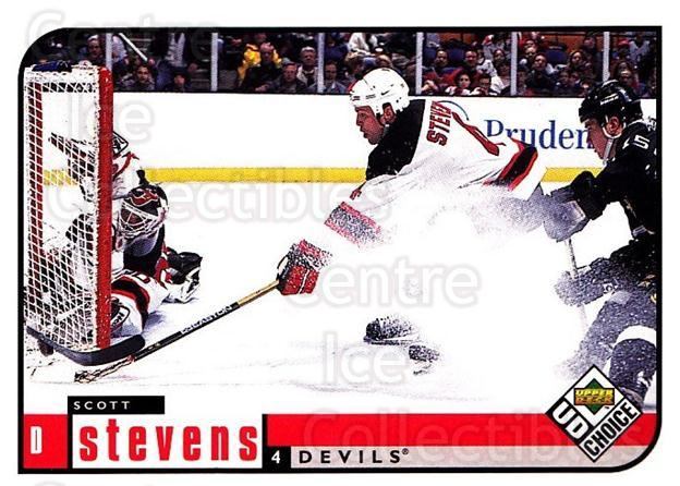 1998-99 UD Choice #113 Scott Stevens<br/>6 In Stock - $1.00 each - <a href=https://centericecollectibles.foxycart.com/cart?name=1998-99%20UD%20Choice%20%23113%20Scott%20Stevens...&quantity_max=6&price=$1.00&code=189648 class=foxycart> Buy it now! </a>