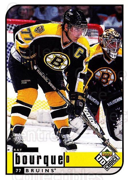 1998-99 UD Choice #15 Ray Bourque<br/>5 In Stock - $1.00 each - <a href=https://centericecollectibles.foxycart.com/cart?name=1998-99%20UD%20Choice%20%2315%20Ray%20Bourque...&quantity_max=5&price=$1.00&code=189685 class=foxycart> Buy it now! </a>