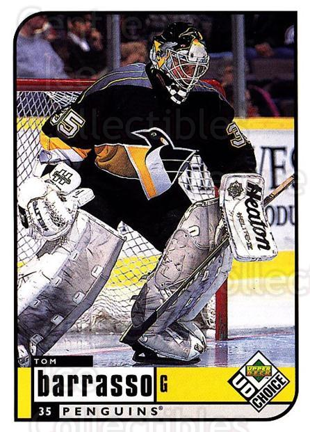 1998-99 UD Choice #165 Tom Barrasso<br/>5 In Stock - $1.00 each - <a href=https://centericecollectibles.foxycart.com/cart?name=1998-99%20UD%20Choice%20%23165%20Tom%20Barrasso...&quantity_max=5&price=$1.00&code=189701 class=foxycart> Buy it now! </a>