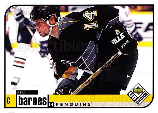 1998-99 UD Choice #167 Stu Barnes<br/>6 In Stock - $1.00 each - <a href=https://centericecollectibles.foxycart.com/cart?name=1998-99%20UD%20Choice%20%23167%20Stu%20Barnes...&quantity_max=6&price=$1.00&code=189703 class=foxycart> Buy it now! </a>
