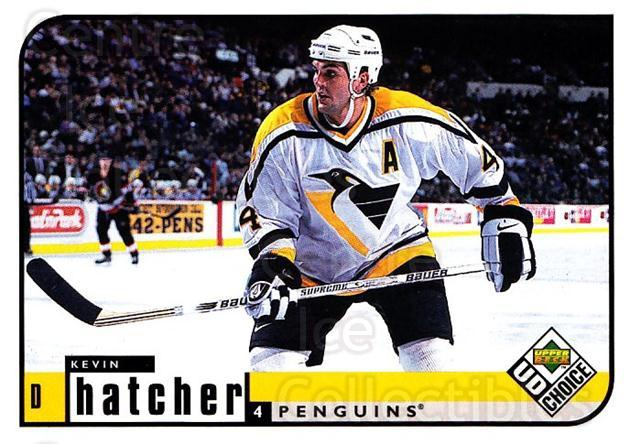 1998-99 UD Choice #172 Kevin Hatcher<br/>6 In Stock - $1.00 each - <a href=https://centericecollectibles.foxycart.com/cart?name=1998-99%20UD%20Choice%20%23172%20Kevin%20Hatcher...&quantity_max=6&price=$1.00&code=189709 class=foxycart> Buy it now! </a>