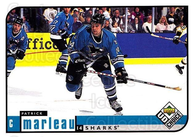 1998-99 UD Choice #173 Patrick Marleau<br/>6 In Stock - $1.00 each - <a href=https://centericecollectibles.foxycart.com/cart?name=1998-99%20UD%20Choice%20%23173%20Patrick%20Marleau...&quantity_max=6&price=$1.00&code=189710 class=foxycart> Buy it now! </a>