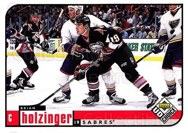 1998-99 UD Choice #21 Brian Holzinger<br/>3 In Stock - $1.00 each - <a href=https://centericecollectibles.foxycart.com/cart?name=1998-99%20UD%20Choice%20%2321%20Brian%20Holzinger...&quantity_max=3&price=$1.00&code=189749 class=foxycart> Buy it now! </a>
