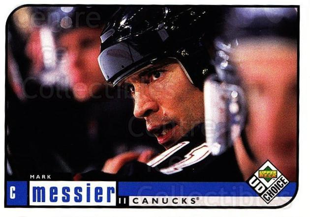 1998-99 UD Choice #211 Mark Messier<br/>4 In Stock - $1.00 each - <a href=https://centericecollectibles.foxycart.com/cart?name=1998-99%20UD%20Choice%20%23211%20Mark%20Messier...&quantity_max=4&price=$1.00&code=189751 class=foxycart> Buy it now! </a>