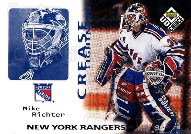 1998-99 UD Choice #246 Mike Richter<br/>5 In Stock - $1.00 each - <a href=https://centericecollectibles.foxycart.com/cart?name=1998-99%20UD%20Choice%20%23246%20Mike%20Richter...&quantity_max=5&price=$1.00&code=189787 class=foxycart> Buy it now! </a>