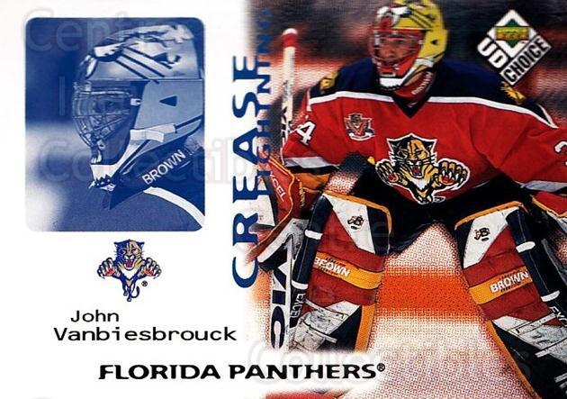 1998-99 UD Choice #247 John Vanbiesbrouck<br/>5 In Stock - $1.00 each - <a href=https://centericecollectibles.foxycart.com/cart?name=1998-99%20UD%20Choice%20%23247%20John%20Vanbiesbro...&quantity_max=5&price=$1.00&code=189788 class=foxycart> Buy it now! </a>