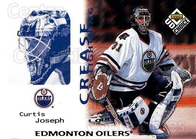 1998-99 UD Choice #251 Curtis Joseph<br/>6 In Stock - $1.00 each - <a href=https://centericecollectibles.foxycart.com/cart?name=1998-99%20UD%20Choice%20%23251%20Curtis%20Joseph...&quantity_max=6&price=$1.00&code=189792 class=foxycart> Buy it now! </a>