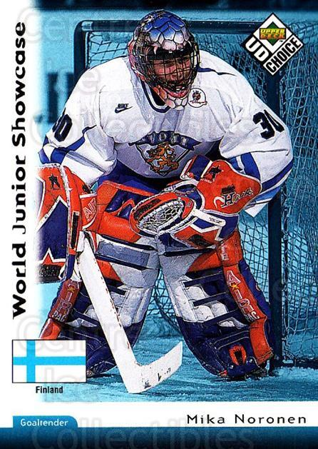 1998-99 UD Choice #278 Mika Noronen<br/>4 In Stock - $1.00 each - <a href=https://centericecollectibles.foxycart.com/cart?name=1998-99%20UD%20Choice%20%23278%20Mika%20Noronen...&quantity_max=4&price=$1.00&code=189817 class=foxycart> Buy it now! </a>