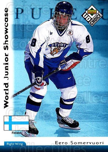 1998-99 UD Choice #281 Eero Somervuori<br/>6 In Stock - $1.00 each - <a href=https://centericecollectibles.foxycart.com/cart?name=1998-99%20UD%20Choice%20%23281%20Eero%20Somervuori...&quantity_max=6&price=$1.00&code=189821 class=foxycart> Buy it now! </a>