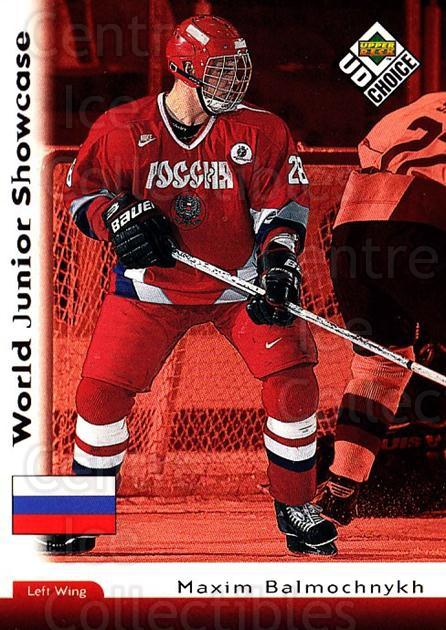 1998-99 UD Choice #283 Maxim Balmochnyk<br/>5 In Stock - $1.00 each - <a href=https://centericecollectibles.foxycart.com/cart?name=1998-99%20UD%20Choice%20%23283%20Maxim%20Balmochny...&quantity_max=5&price=$1.00&code=189823 class=foxycart> Buy it now! </a>