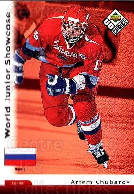 1998-99 UD Choice #284 Artem Chubarov<br/>6 In Stock - $1.00 each - <a href=https://centericecollectibles.foxycart.com/cart?name=1998-99%20UD%20Choice%20%23284%20Artem%20Chubarov...&quantity_max=6&price=$1.00&code=189824 class=foxycart> Buy it now! </a>