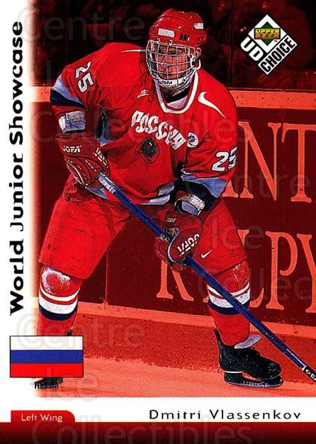 1998-99 UD Choice #287 Dmitri Vlassenkov<br/>6 In Stock - $1.00 each - <a href=https://centericecollectibles.foxycart.com/cart?name=1998-99%20UD%20Choice%20%23287%20Dmitri%20Vlassenk...&quantity_max=6&price=$1.00&code=189827 class=foxycart> Buy it now! </a>