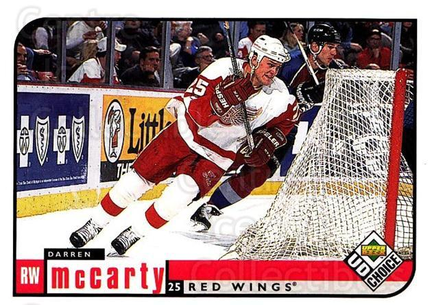1998-99 UD Choice #72 Darren McCarty<br/>5 In Stock - $1.00 each - <a href=https://centericecollectibles.foxycart.com/cart?name=1998-99%20UD%20Choice%20%2372%20Darren%20McCarty...&quantity_max=5&price=$1.00&code=189892 class=foxycart> Buy it now! </a>