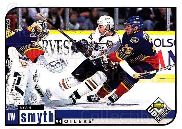1998-99 UD Choice #82 Ryan Smyth<br/>5 In Stock - $1.00 each - <a href=https://centericecollectibles.foxycart.com/cart?name=1998-99%20UD%20Choice%20%2382%20Ryan%20Smyth...&quantity_max=5&price=$1.00&code=189903 class=foxycart> Buy it now! </a>