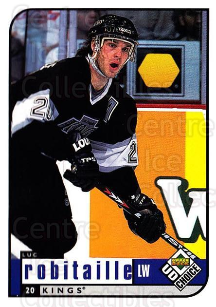 1998-99 UD Choice #98 Luc Robitaille<br/>5 In Stock - $1.00 each - <a href=https://centericecollectibles.foxycart.com/cart?name=1998-99%20UD%20Choice%20%2398%20Luc%20Robitaille...&quantity_max=5&price=$1.00&code=189920 class=foxycart> Buy it now! </a>
