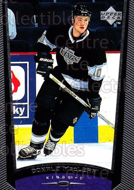 1998-99 Upper Deck #106 Donald MacLean<br/>12 In Stock - $1.00 each - <a href=https://centericecollectibles.foxycart.com/cart?name=1998-99%20Upper%20Deck%20%23106%20Donald%20MacLean...&quantity_max=12&price=$1.00&code=189928 class=foxycart> Buy it now! </a>