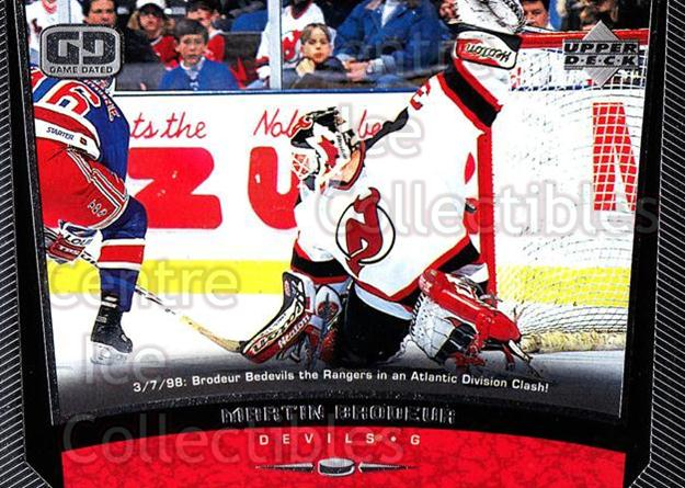 1998-99 Upper Deck #118 Martin Brodeur<br/>18 In Stock - $2.00 each - <a href=https://centericecollectibles.foxycart.com/cart?name=1998-99%20Upper%20Deck%20%23118%20Martin%20Brodeur...&quantity_max=18&price=$2.00&code=189940 class=foxycart> Buy it now! </a>