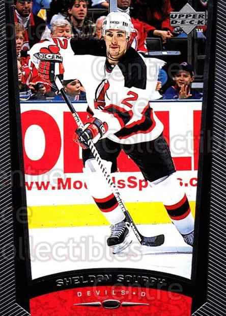 1998-99 Upper Deck #122 Sheldon Souray<br/>11 In Stock - $1.00 each - <a href=https://centericecollectibles.foxycart.com/cart?name=1998-99%20Upper%20Deck%20%23122%20Sheldon%20Souray...&quantity_max=11&price=$1.00&code=189945 class=foxycart> Buy it now! </a>