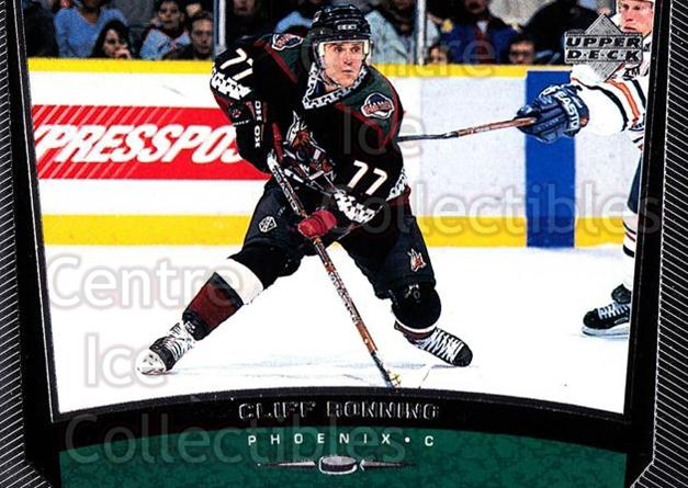 1998-99 Upper Deck #156 Cliff Ronning<br/>13 In Stock - $1.00 each - <a href=https://centericecollectibles.foxycart.com/cart?name=1998-99%20Upper%20Deck%20%23156%20Cliff%20Ronning...&quantity_max=13&price=$1.00&code=189981 class=foxycart> Buy it now! </a>