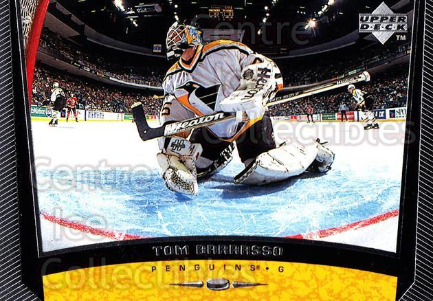 1998-99 Upper Deck #162 Tom Barrasso<br/>14 In Stock - $1.00 each - <a href=https://centericecollectibles.foxycart.com/cart?name=1998-99%20Upper%20Deck%20%23162%20Tom%20Barrasso...&price=$1.00&code=189988 class=foxycart> Buy it now! </a>