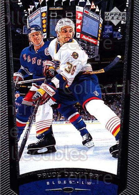 1998-99 Upper Deck #173 Pavol Demitra<br/>11 In Stock - $1.00 each - <a href=https://centericecollectibles.foxycart.com/cart?name=1998-99%20Upper%20Deck%20%23173%20Pavol%20Demitra...&quantity_max=11&price=$1.00&code=190000 class=foxycart> Buy it now! </a>