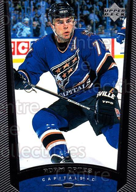 1998-99 Upper Deck #199 Adam Oates<br/>14 In Stock - $1.00 each - <a href=https://centericecollectibles.foxycart.com/cart?name=1998-99%20Upper%20Deck%20%23199%20Adam%20Oates...&quantity_max=14&price=$1.00&code=190028 class=foxycart> Buy it now! </a>