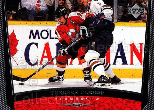 1998-99 Upper Deck #232 Theo Fleury<br/>14 In Stock - $1.00 each - <a href=https://centericecollectibles.foxycart.com/cart?name=1998-99%20Upper%20Deck%20%23232%20Theo%20Fleury...&quantity_max=14&price=$1.00&code=190066 class=foxycart> Buy it now! </a>