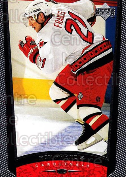 1998-99 Upper Deck #241 Ron Francis<br/>14 In Stock - $1.00 each - <a href=https://centericecollectibles.foxycart.com/cart?name=1998-99%20Upper%20Deck%20%23241%20Ron%20Francis...&quantity_max=14&price=$1.00&code=190076 class=foxycart> Buy it now! </a>