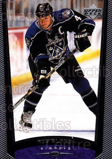 1998-99 Upper Deck #285 Rob Blake<br/>14 In Stock - $1.00 each - <a href=https://centericecollectibles.foxycart.com/cart?name=1998-99%20Upper%20Deck%20%23285%20Rob%20Blake...&quantity_max=14&price=$1.00&code=190123 class=foxycart> Buy it now! </a>