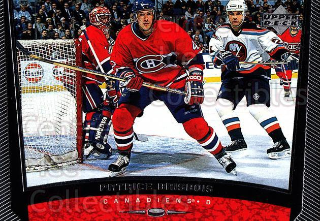1998-99 Upper Deck #293 Patrice Brisebois<br/>14 In Stock - $1.00 each - <a href=https://centericecollectibles.foxycart.com/cart?name=1998-99%20Upper%20Deck%20%23293%20Patrice%20Brisebo...&quantity_max=14&price=$1.00&code=190132 class=foxycart> Buy it now! </a>