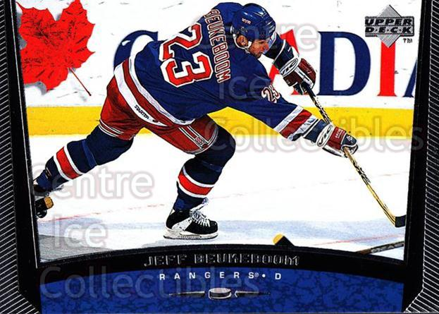 1998-99 Upper Deck #326 Jeff Beukeboom<br/>14 In Stock - $1.00 each - <a href=https://centericecollectibles.foxycart.com/cart?name=1998-99%20Upper%20Deck%20%23326%20Jeff%20Beukeboom...&quantity_max=14&price=$1.00&code=190168 class=foxycart> Buy it now! </a>