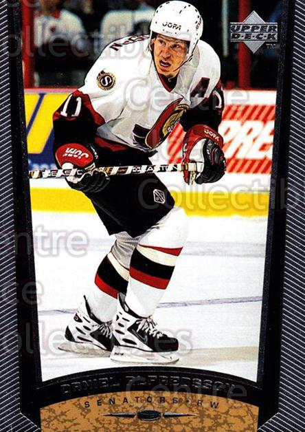 1998-99 Upper Deck #327 Daniel Alfredsson<br/>14 In Stock - $1.00 each - <a href=https://centericecollectibles.foxycart.com/cart?name=1998-99%20Upper%20Deck%20%23327%20Daniel%20Alfredss...&quantity_max=14&price=$1.00&code=190169 class=foxycart> Buy it now! </a>