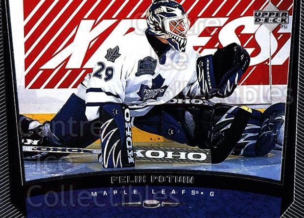 1998-99 Upper Deck #371 Felix Potvin<br/>11 In Stock - $1.00 each - <a href=https://centericecollectibles.foxycart.com/cart?name=1998-99%20Upper%20Deck%20%23371%20Felix%20Potvin...&quantity_max=11&price=$1.00&code=190217 class=foxycart> Buy it now! </a>