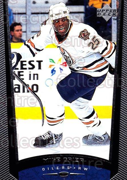 1998-99 Upper Deck #94 Mike Grier<br/>14 In Stock - $1.00 each - <a href=https://centericecollectibles.foxycart.com/cart?name=1998-99%20Upper%20Deck%20%2394%20Mike%20Grier...&quantity_max=14&price=$1.00&code=190320 class=foxycart> Buy it now! </a>