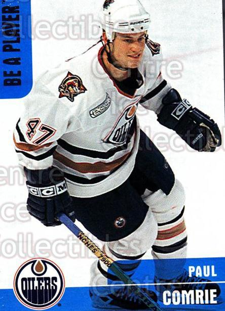 1999-00 BAP Memorabilia #392 Paul Comrie<br/>14 In Stock - $1.00 each - <a href=https://centericecollectibles.foxycart.com/cart?name=1999-00%20BAP%20Memorabilia%20%23392%20Paul%20Comrie...&quantity_max=14&price=$1.00&code=190487 class=foxycart> Buy it now! </a>