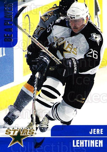 1999-00 BAP Memorabilia #48 Jere Lehtinen<br/>4 In Stock - $1.00 each - <a href=https://centericecollectibles.foxycart.com/cart?name=1999-00%20BAP%20Memorabilia%20%2348%20Jere%20Lehtinen...&quantity_max=4&price=$1.00&code=190503 class=foxycart> Buy it now! </a>