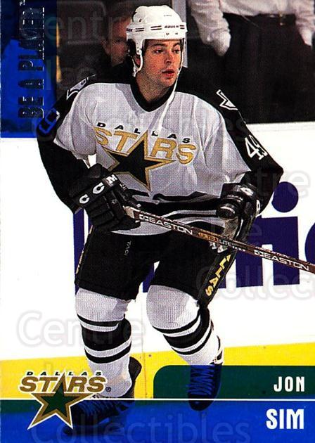 1999-00 BAP Memorabilia #65 Jon Sim<br/>2 In Stock - $1.00 each - <a href=https://centericecollectibles.foxycart.com/cart?name=1999-00%20BAP%20Memorabilia%20%2365%20Jon%20Sim...&quantity_max=2&price=$1.00&code=190519 class=foxycart> Buy it now! </a>