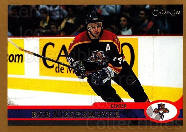 1999-00 O-Pee-Chee #45 Rob Niedermayer<br/>6 In Stock - $1.00 each - <a href=https://centericecollectibles.foxycart.com/cart?name=1999-00%20O-Pee-Chee%20%2345%20Rob%20Niedermayer...&quantity_max=6&price=$1.00&code=190877 class=foxycart> Buy it now! </a>