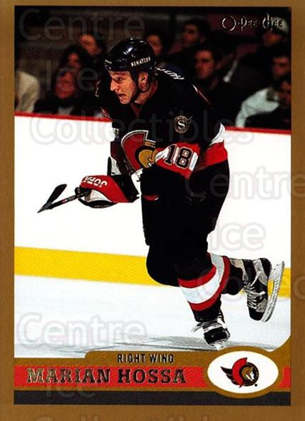 1999-00 O-Pee-Chee #99 Marian Hossa<br/>10 In Stock - $1.00 each - <a href=https://centericecollectibles.foxycart.com/cart?name=1999-00%20O-Pee-Chee%20%2399%20Marian%20Hossa...&quantity_max=10&price=$1.00&code=190936 class=foxycart> Buy it now! </a>