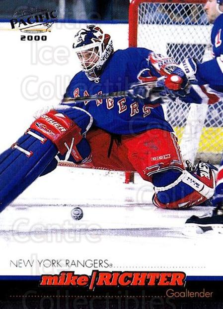 1999-00 Pacific #278 Mike Richter<br/>3 In Stock - $1.00 each - <a href=https://centericecollectibles.foxycart.com/cart?name=1999-00%20Pacific%20%23278%20Mike%20Richter...&quantity_max=3&price=$1.00&code=191003 class=foxycart> Buy it now! </a>