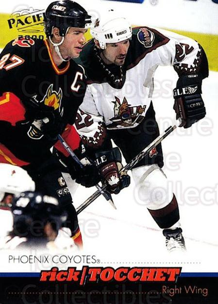1999-00 Pacific #329 Rick Tocchet<br/>5 In Stock - $1.00 each - <a href=https://centericecollectibles.foxycart.com/cart?name=1999-00%20Pacific%20%23329%20Rick%20Tocchet...&quantity_max=5&price=$1.00&code=191059 class=foxycart> Buy it now! </a>