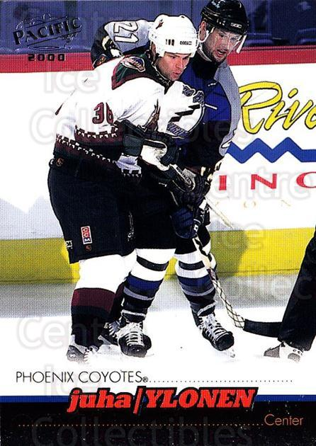 1999-00 Pacific #331 Juha Ylonen<br/>4 In Stock - $1.00 each - <a href=https://centericecollectibles.foxycart.com/cart?name=1999-00%20Pacific%20%23331%20Juha%20Ylonen...&quantity_max=4&price=$1.00&code=191062 class=foxycart> Buy it now! </a>