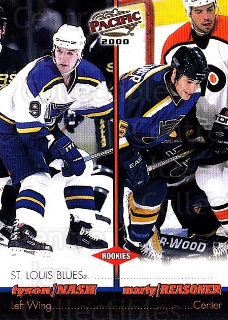 1999-00 Pacific #368 Tyson Nash, Marty Reasoner<br/>3 In Stock - $1.00 each - <a href=https://centericecollectibles.foxycart.com/cart?name=1999-00%20Pacific%20%23368%20Tyson%20Nash,%20Mar...&quantity_max=3&price=$1.00&code=191099 class=foxycart> Buy it now! </a>