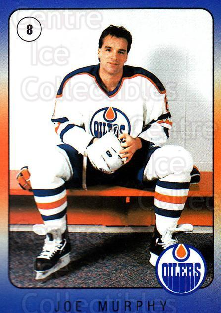 1990-91 Edmonton Oilers IGA #20 Joe Murphy<br/>6 In Stock - $3.00 each - <a href=https://centericecollectibles.foxycart.com/cart?name=1990-91%20Edmonton%20Oilers%20IGA%20%2320%20Joe%20Murphy...&quantity_max=6&price=$3.00&code=19123 class=foxycart> Buy it now! </a>