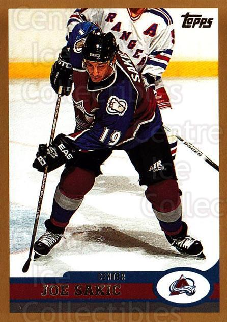 1999-00 Topps #1 Joe Sakic<br/>3 In Stock - $2.00 each - <a href=https://centericecollectibles.foxycart.com/cart?name=1999-00%20Topps%20%231%20Joe%20Sakic...&quantity_max=3&price=$2.00&code=192218 class=foxycart> Buy it now! </a>