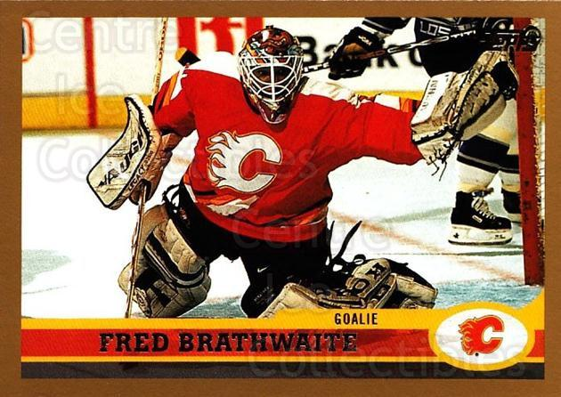 1999-00 Topps #108 Fred Brathwaite<br/>8 In Stock - $1.00 each - <a href=https://centericecollectibles.foxycart.com/cart?name=1999-00%20Topps%20%23108%20Fred%20Brathwaite...&quantity_max=8&price=$1.00&code=192228 class=foxycart> Buy it now! </a>