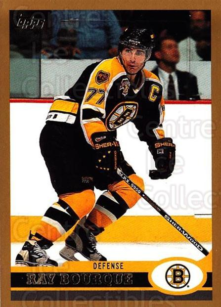 1999-00 Topps #11 Ray Bourque<br/>4 In Stock - $1.00 each - <a href=https://centericecollectibles.foxycart.com/cart?name=1999-00%20Topps%20%2311%20Ray%20Bourque...&quantity_max=4&price=$1.00&code=192230 class=foxycart> Buy it now! </a>