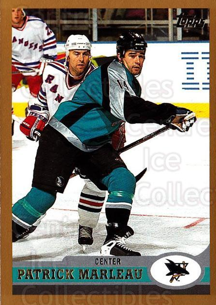 1999-00 Topps #134 Patrick Marleau<br/>6 In Stock - $1.00 each - <a href=https://centericecollectibles.foxycart.com/cart?name=1999-00%20Topps%20%23134%20Patrick%20Marleau...&quantity_max=6&price=$1.00&code=192254 class=foxycart> Buy it now! </a>