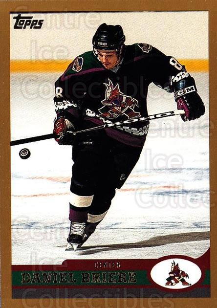 1999-00 Topps #144 Daniel Briere<br/>11 In Stock - $1.00 each - <a href=https://centericecollectibles.foxycart.com/cart?name=1999-00%20Topps%20%23144%20Daniel%20Briere...&quantity_max=11&price=$1.00&code=192265 class=foxycart> Buy it now! </a>