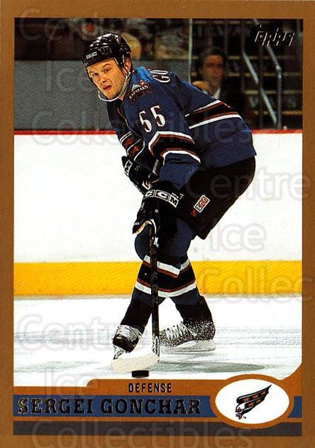 1999-00 Topps #146 Sergei Gonchar<br/>1 In Stock - $1.00 each - <a href=https://centericecollectibles.foxycart.com/cart?name=1999-00%20Topps%20%23146%20Sergei%20Gonchar...&quantity_max=1&price=$1.00&code=192267 class=foxycart> Buy it now! </a>